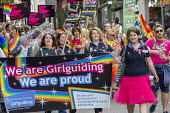 Pride Day Parade, Bristol, Girlguiding - Paul Box - 09-07-2016