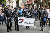 Pride Day Parade, Bristol. Mr LeatherWest - Paul Box - 09-07-2016