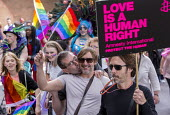 Pride Day Parade, Bristol. Love is a human right - Paul Box - 09-07-2016