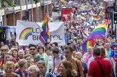 Pride Day Parade, Bristol - Paul Box - 2010s,2016,ACE,banner,banners,cities,city,Culture,equal,flag,flags,Gay,Gays,Homosexual,HOMOSEXUALITY,Homosexuals,Leisure,LFL,LGBT,LIFE,male,man,men,MINORITIES,MINORITY,parade,people,person,persons,Pri