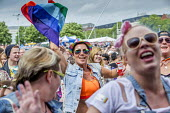 Pride Day Festival, Bristol - Paul Box - 2010s,2016,cities,city,EMOTION,EMOTIONAL,EMOTIONS,equal,FEMALE,Festival,FESTIVALS,Gay,Gays,happiness,happy,having fun,Homosexual,HOMOSEXUALITY,Homosexuals,Leisure,lesbian,lesbians,LFL,LGBT,LIFE,MINORI