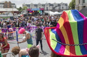 Pride Day Festival, Bristol - Paul Box - 2010s,2016,cities,city,color,colorful,colorfull,colors,colour,colourful,colours,equal,Festival,FESTIVALS,Gay,Gays,hat,hats,Homosexual,HOMOSEXUALITY,Homosexuals,Leisure,LFL,LGBT,LIFE,MINORITIES,MINORIT