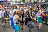 Pride Day Festival, Bristol. Egg and spoon race - Paul Box - 09-07-2016