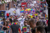 Pride Day Parade, Bristol - Paul Box - 2010s,2016,ACE,cities,city,color,colorful,colorfull,colors,colour,colourful,colours,Culture,equal,Gay,Gays,Homosexual,HOMOSEXUALITY,Homosexuals,Leisure,LFL,LGBT,LIFE,MINORITIES,MINORITY,parade,PEOPLE,