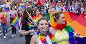 Pride Day Parade, Bristol - Paul Box - 2010s,2016,ACE,banner,banners,cities,city,color,colorful,colorfull,colors,colour,colourful,colours,Culture,EMOTION,EMOTIONAL,EMOTIONS,equal,FEMALE,Gay,Gays,happiness,happy,Homosexual,HOMOSEXUALITY,Hom