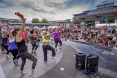 Pride Day Festival, Bristol - Paul Box - 2010s,2016,ACE,cities,city,culture,dance,dancer,dancers,dancing,equal,FEMALE,Festival,FESTIVALS,Gay,Gays,Homosexual,HOMOSEXUALITY,Homosexuals,Leisure,lesbian,lesbians,LFL,LGBT,LIFE,melody,MINORITIES,M