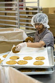Las Vegas, Nevada, disabled baking cookies for sale in the Cookie Crafter program, nonprofit Opportunity Village - Jim West - 30-06-2016