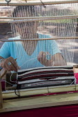 Ganado, Arizona, Navajo Nation, Wool and Weaving Workshop, Hubbell Trading Post National Historic Site - Jim West - 10-07-2016