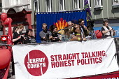 Andrew Fox Hewitt FBU speaking Jeremy Corbyn leadership election rally, Hanley, Stoke on Trent - John Harris - 01-09-2016