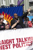 Roger McKenzie Unison speaking Jeremy Corbyn leadership election rally, Hanley, Stoke on Trent - John Harris - 01-09-2016