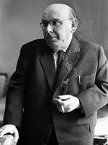Austrian Composer Hanns Eisler 1959, composer of the GDR National Anthem and a long time musical and political associate of Bertolt Brecht, London - Alan Vines - 26-11-1959