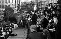 Boycott Apartheid Rally Trafalgar Square London 1960