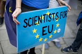 Scientists For EU, March for Europe against the Brexit EU referendum result, Central London. - Jess Hurd - 03-09-2016