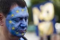 March for Europe against the Brexit EU referendum result, Central London. - Jess Hurd - 2010s,2016,activist,activists,against,Brexit,campaign,campaigner,campaigners,campaigning,CAMPAIGNS,democracy,DEMONSTRATING,demonstration,DEMONSTRATIONS,EU,Europe,European Union,Face paint,Face Paintin