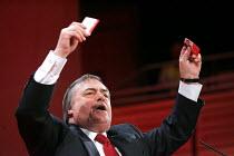 John Prescott. 2005 Labour Party Spring Conference, The Sage, Gateshead On Tyne. 11/2 2005. - Mark Pinder - 11-02-2005