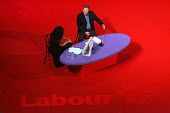 Tony Blair. 2005 Labour Party Spring Conference, The Sage, Gateshead On Tyne. 12/2 2005 - Mark Pinder - 12-02-2005