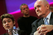 Ruth Kelly and John Reid. 2005 Labour Party Spring Conference, The Sage, Gateshead On Tyne. 13/2 2005 - Mark Pinder - 13-02-2005