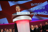 Tony Blair delivers his main speech on the final day of conference. 2005 Labour Party Spring Conference, The Sage, Gateshead On Tyne. Tony Blair delivers his main speech on the final day of conference... - Mark Pinder - 13-02-2005