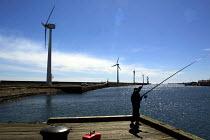 Fisherman Blyth offshore windfarm in Northumberland. - Mark Pinder - 05-05-2002