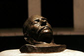 Bronze death mask of former Soviet leader Joseph Stalin, Joseph Stalin Museum, Gori, Republic of Georgia - Mark Pinder - 21-05-2005