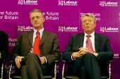 'Unions Together' Labour leadership and deputy leadership hustings meeting, Centre For Life, Newcastle Upon Tyne, 3/6 2007. Deputy leadership candidates Hilary Benn and Alan Johnson. - Mark Pinder - 03-06-2007