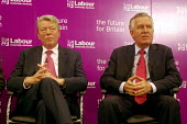 'Unions Together' Labour leadership and deputy leadership hustings meeting, Centre For Life, Newcastle Upon Tyne, 3/6 2007. Deputy leadership candidates Alan Johnson and Peter Hain. - Mark Pinder - 03-06-2007