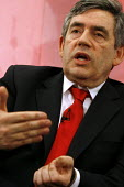 'Unions Together' Labour leadership and deputy leadership hustings meeting, Centre For Life, Newcastle Upon Tyne, 3/6 2007. Gordon Brown addresses the meeting.  � - Mark Pinder - 03-06-2007
