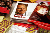 'Unions Together' Labour leadership and deputy leadership hustings meeting, Centre For Life, Newcastle Upon Tyne, 3/6 2007. Deputy leadership campaign material. - Mark Pinder - 03-06-2007