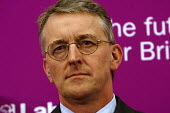 'Unions Together' Labour leadership and deputy leadership hustings meeting, Centre For Life, Newcastle Upon Tyne, 3/6 2007. Deputy leadership candidate Hilary Benn. - Mark Pinder - 03-06-2007