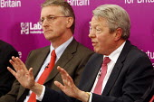 Unions Together Labour leadership and deputy leadership hustings meeting Newcastle Upon Tyne, 3/6 2007. Deputy leadership candidates Hilary Benn and Alan Johnson. - Mark Pinder - 03-06-2007