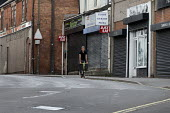 Closed shops, Shirebrook, Derbyshire - John Harris - 2010s,2016,closed,closed down,closing,closure,closures,communities,community,deindustrialisation,deindustrialization,derelict,DERELICTION,highway,jobless,jobseeker,jobseekers,male,man,Marginalised,men