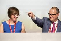 Frances O'Grady and Paul Paul Nowak,TUC conference Brighton. - Jess Hurd - 11-09-2016
