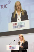 Kate Hudson CWU speaking at TUC conference Brighton. - Jess Hurd - 2010s,2016,Conference,conferences,Congress,CWU,female,Kate Hudson,member,member members,members,people,person,persons,SPEAKER,SPEAKERS,speaking,SPEECH,Trade Union,Trade Union,Trade Unions,Trades Union