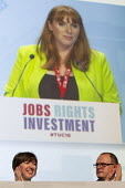 Angela Rayner MP speaking TUC conference Brighton. - Jess Hurd - 2010s,2016,Angela Rayner,Conference,conferences,Congress,FEMALE,Frances O'Grady,Labour Party,member,member members,members,MP,MPs,Paul Nowak,people,person,persons,POL,political,politician,politicians,
