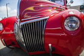 Fort Bragg, California, enthusiasts show off classic old cars and tuned hot rods they've lovingly restored and customized. 1939 Ford - David Bacon - 04-09-2016