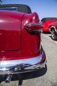 Fort Bragg, California, enthusiasts show off classic old cars and tuned hot rods they've lovingly restored and customized. - David Bacon - 1951,2010s,2016,AUTO,AUTOMOBILE,AUTOMOBILES,AUTOMOTIVE,bumper,California,car,cars,custom,customised,customized,exhaust,Ford,hobbies,hobby,hobbyist,hot rod,hot rods,Leisure,LFL,LIFE,PEOPLE,RECREATION,R
