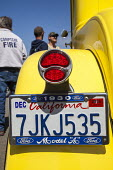 Fort Bragg, California, enthusiasts show off classic old cars and tuned hot rods they've lovingly restored and customized. - David Bacon - 04-09-2016