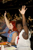 Young women Equity delegates at TUC conference Brighton. - Jess Hurd - 13-09-2016