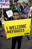 Refugees Are Welcome Here National Demonstration, Central London. - Jess Hurd - 17-09-2016