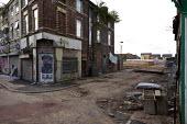 Regeneration, new housing and demolition of old shops, Edge Hill, Liverpool - John Harris - 23-09-2016