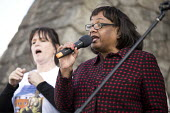 Diane Abbott speaking, march to save the Womens Hospital from closure, Labour Party conference Liverpool. - Jess Hurd - 25-09-2016