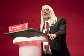 Tosh McDonald ASLEF, Labour Party conference Liverpool. - Jess Hurd - 2010s,2016,ASLEF,conference,conferences,Labour Party,Liverpool,member,member members,members,Party,people,POL,political,POLITICIAN,POLITICIANS,Politics,SPEAKER,SPEAKERS,speaking,SPEECH,Tosh McDonald,T