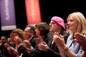 Eddie Izzard, Labour Party conference Liverpool. - Jess Hurd - 2010s,2016,applauding,applause,conference,conferences,Labour Party,Liverpool,MP,MPs,Party,POL,political,politician,politicians,Politics