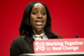 Kate Osamor MP speaking at Labour Party conference Liverpool. - Jess Hurd - 2010s,2016,BAME,BAMEs,Black,BME,BME black,bmes,conference,conferences,diversity,ethnic,ethnicity,female,Kate Osamor,Labour Party,Labour Party conference,Liverpool,minorities,minority,MP,MPs,Party,peop