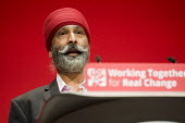 AJ Singh, CWU speaking Labour Party conference Liverpool. - Jess Hurd - 2010s,2016,AJ Singh,BAME,BAMEs,Black,BME,bmes,conference,conferences,CWU,diversity,ethnic,ethnicity,Labour Party,Labour Party conference,Liverpool,male,man,men,minorities,minority,Party,people,person,