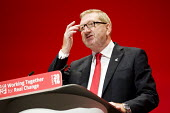 Len McCluskey, UNITE speaking Labour Party conference Liverpool. - Jess Hurd - 2010s,2016,conference,conferences,Labour Party,Labour Party conference,Len McCluskey,Liverpool,male,man,member,member members,members,men,Party,people,person,persons,POL,political,POLITICIAN,POLITICIA