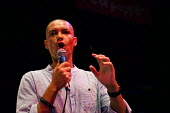 Clive Lewis MP speaking, workshop The World Transformed, Black-E, Liverpool - connor matheson - 24-09-2016