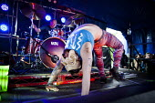 Space Blood performing at the ArcTanGen Music Festival. Bristol - Connor Matheson - 2010s,2016,ACE,band,bands,Blood,cities,city,concert,concerts,culture,dance,dancer,dancers,dancing,gig,gigs,having fun,Leisure,LFL,LIFE,live,male,man,melody,men,music,MUSICAL,musical instrument,musical