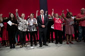 Jeremy Corbyn, Singing the Red Flag, Labour Party Conference, Liverpool - Jess Hurd - 28-09-2016