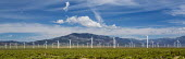 Ely, Nevada, Spring Valley Wind Farm, which uses 66 wind turbines to generate 150 megawatts of electricity. - Jim West - 01-07-2016